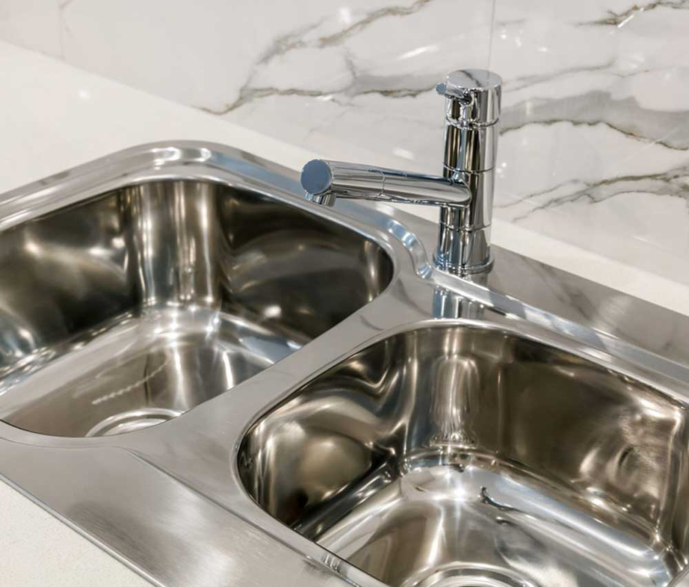 Kitchen sinks need to be practical but also stylish, reflecting you design choices for home inclusions