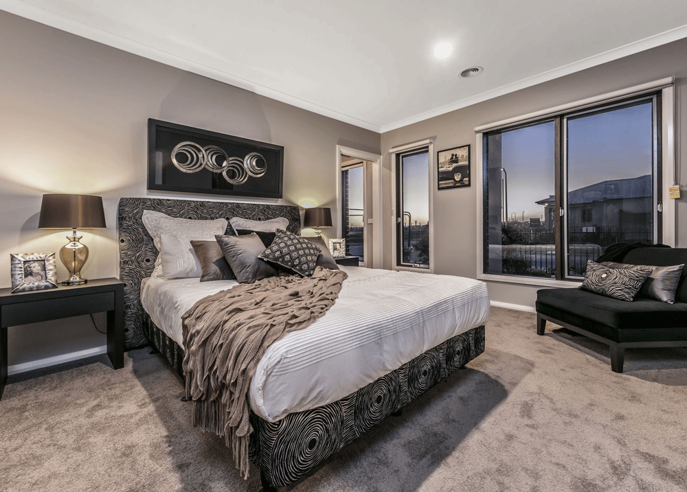 A beautifully decorated room of a Rowden Hill home